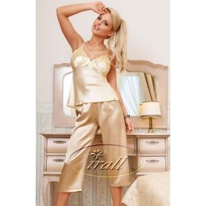 Irall Parisa Pyjamas Beige - Luxury Nightwear
